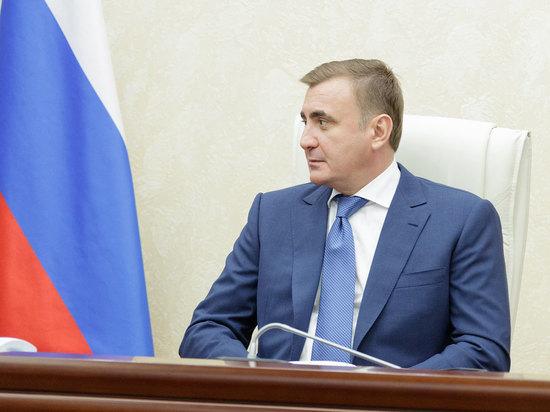 Алексей Дюмин по видео принял участие в видеоконференции с Владимиром Путиным