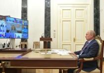 Очередное совещание с членами правительства Владимир Путин решил начать с хороших, на его взгляд, новостей