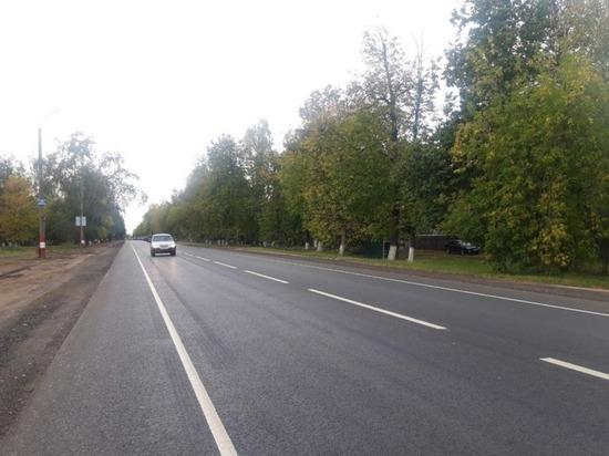 Одну из самых загруженных дорог региона отремонтировали в Балахне