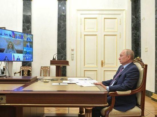 Место во главе отведено президенту