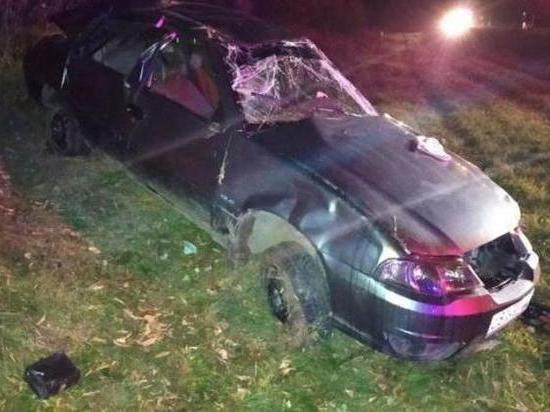 Под Тюменью пьяный подросток покатался на авто и устроил ДТП