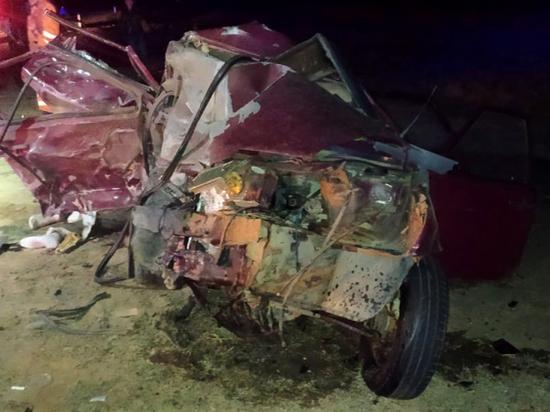 Под Астраханью в ДТП погибла женщина