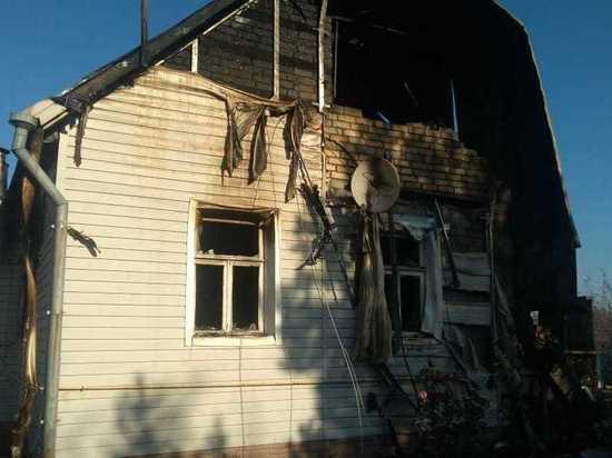 Ночью на пожаре под Рязанью погибли супруги-пенсионеры