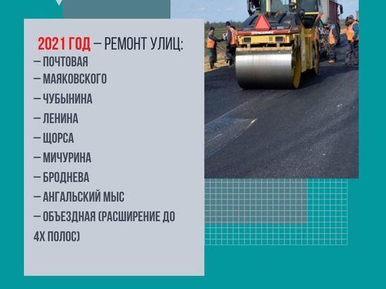 В Салехарде реконструируют около 20 улиц в следующем году