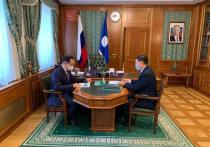 Глава Якутии встретился с генеральным директором Фонда будущих поколений