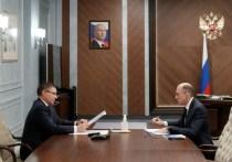 Глава Республики Алтай Олег Хорохордин в федеральном Минстрое обсудил вопросы спасения Телецкого озера