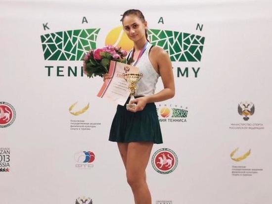 Чемпионка России по теннису рассказала о планах на будущее