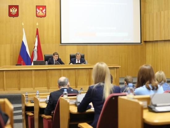 Воронежская областная Дума утвердила количество и персональный состав постоянных Комитетов