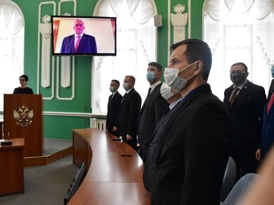 Губернатор Костромской области Сергей Ситников официально вступил в должность