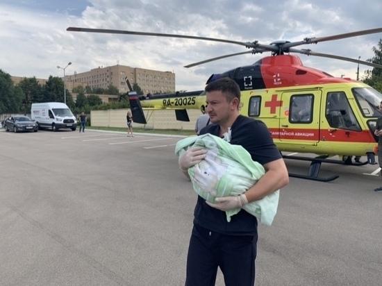 Вертолет санитарной авиации совершил 50 вылетов в Рязанской области