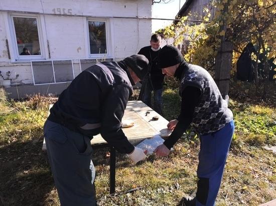 В Рязанской области восстанавливают пострадавшие от взрывов дома