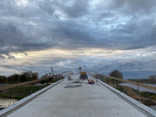 В Твери возведение моста через Тьмаку выходит в финальную стадию