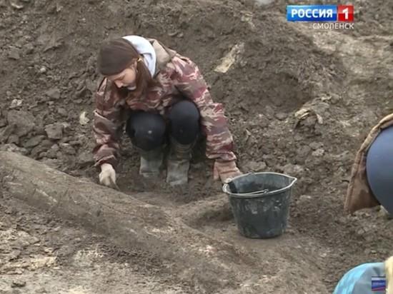 Московские археологи нашли самую древнюю дорогу Смоленска