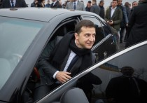 Сегодня президент Украины работал в Черниговской области, примыкающей сразу к двум государствам - Республике Беларусь и Российской Федерации