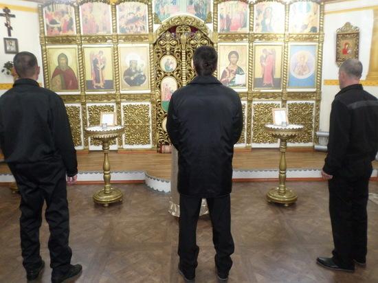 В «туберкулезной» колонии Бурятии прошло богослужение в честь Покрова