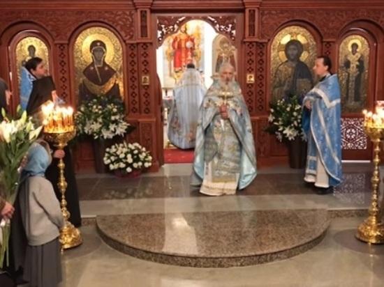 Отец Сергий открыл новый храм