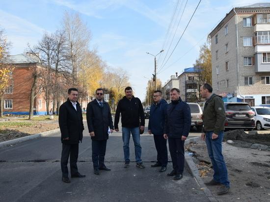 Комиссия проверила ход работ по улице Урукова в Чебоксарах