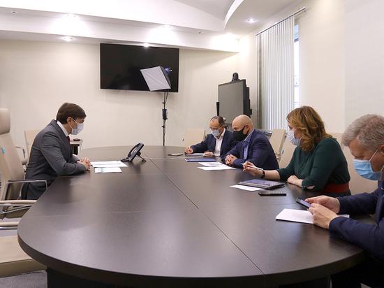 Министр просвещения  провёл встречу с Липецким губернатором