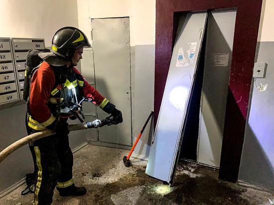 Сон севастопольцев нарушил ночной пожар в шахте лифта