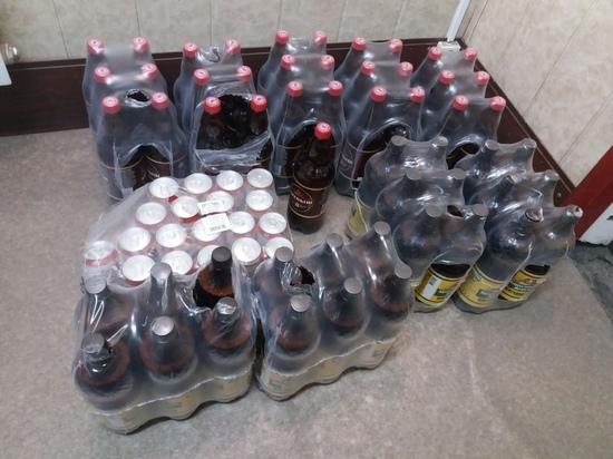 В двух магазинах Кызыла «из-под прилавка» продавали пиво