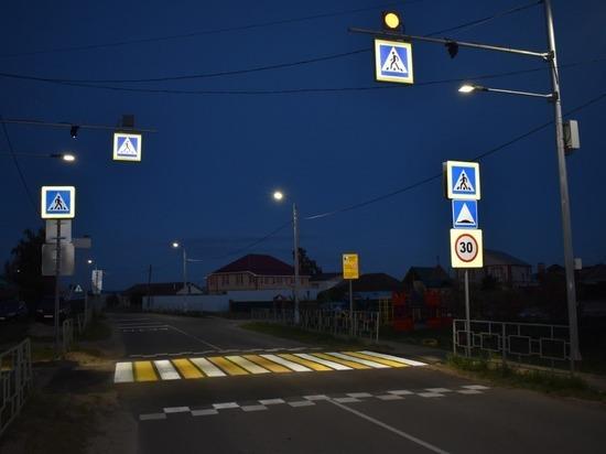 В Рязанской области неизвестные спиливают дорожные знаки