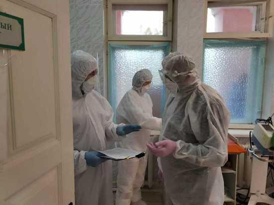 Новый главврач ОКБ посетил «красную зону» Скопинского ММЦ