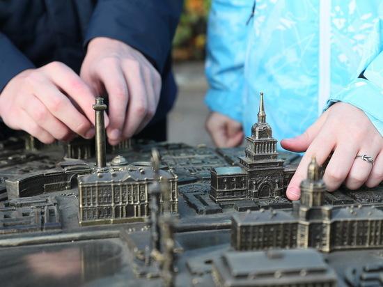 В Петербурге появилась тактильная карта города для незрячих