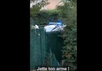 На YouTube появилось видео ликвидации чеченца, который обезглавил учителя в пригороде Парижа