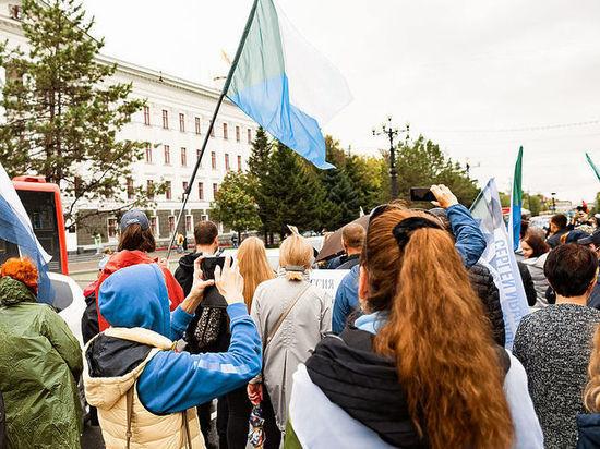 Хабаровчан не испугал ОМОН: субботнее шествие началось в Хабаровске