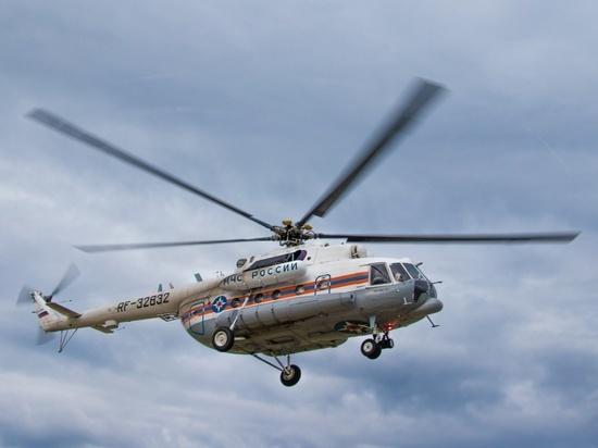 Вертолетом из Тверской области доставили в больницу тяжелобольного пациента