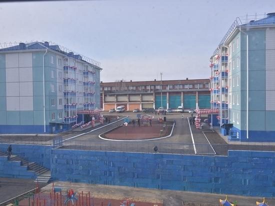 ОАО «РЖД» передало администрации пострадавшего от паводка Тулуна два многоквартирных дома