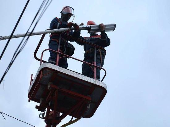 Костромские энергетики за полтора месяца заменят все ртутные фонари на светодиодные