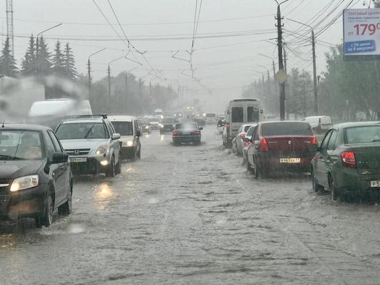 Сегодня в Тульской области ожидается сильный дождь и штормовой ветер