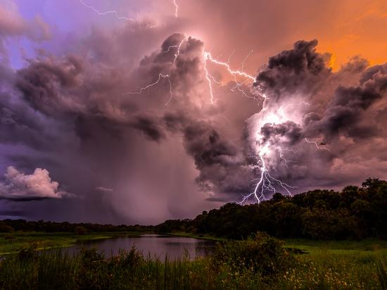 В Тульской области объявлено штормовое метеопредупреждение