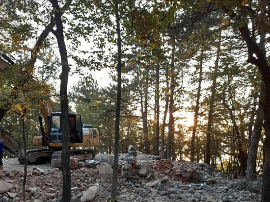 В лесах Кубани снесли более 70 незаконных построек