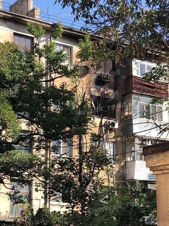 В Новороссийске горела квартира в многоэтажном доме