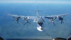 Экипажи Ту-95МС показали на видео воздушную дозаправку