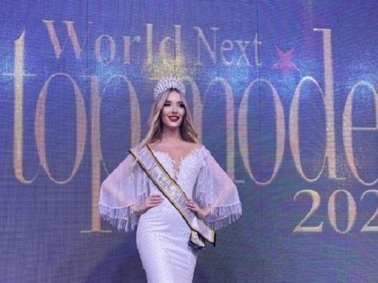 Модель из Крыма стала самой красивой на конкурсе в Бейруте