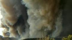 Крупнейший в истории Колорадо пожар сняли на видео: кадры ужасают