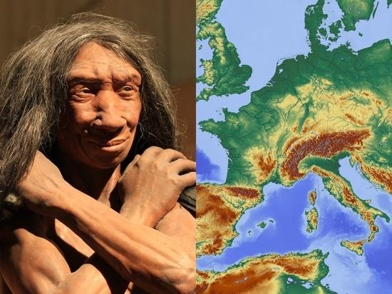 Homo sapiens при миграции шли в обход европейской территории