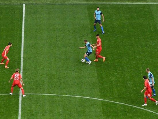 Первый тайм матча «Ротора» и «Тамбова» завершился нулевым счетом