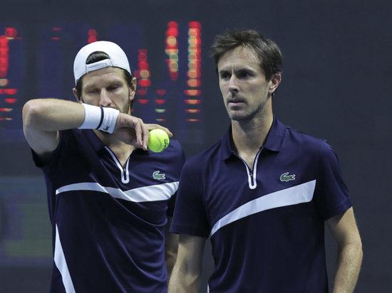 Мельцер и Роже-Васслен выиграли парный турнир на St.Petersburg Open