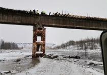 В ЯНАО рабочих обвинили в сбросе строительного мусора в реку при ремонте моста