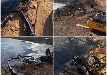 Под Астраханью незаконно добывали нефть из Ильинских нефтеям