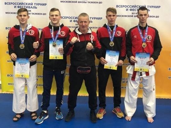 Костромские спортсмены взяли 4 «золота» на всероссийском турнире по тхэквондо