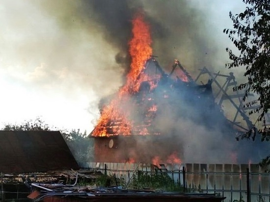 Хозяин частного дома погиб при пожаре в Моргаушском районе