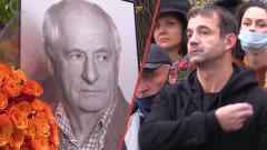 Певцов, Чурикова, Крутой вспомнили Марка Захарова: кадры открытия памятника