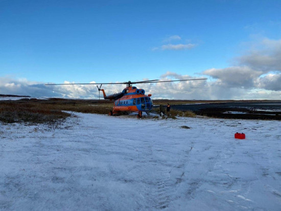 Найдено тело одного рыбака с затонувшего судна в Баренцевом море
