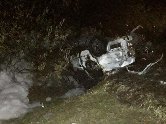 Два человека погибли рано утром в ДТП в Псковской области