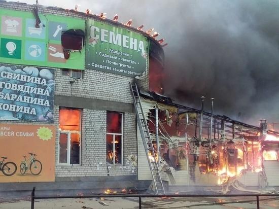 Прокуратура проведет проверку по пожару торгового центра в Чите